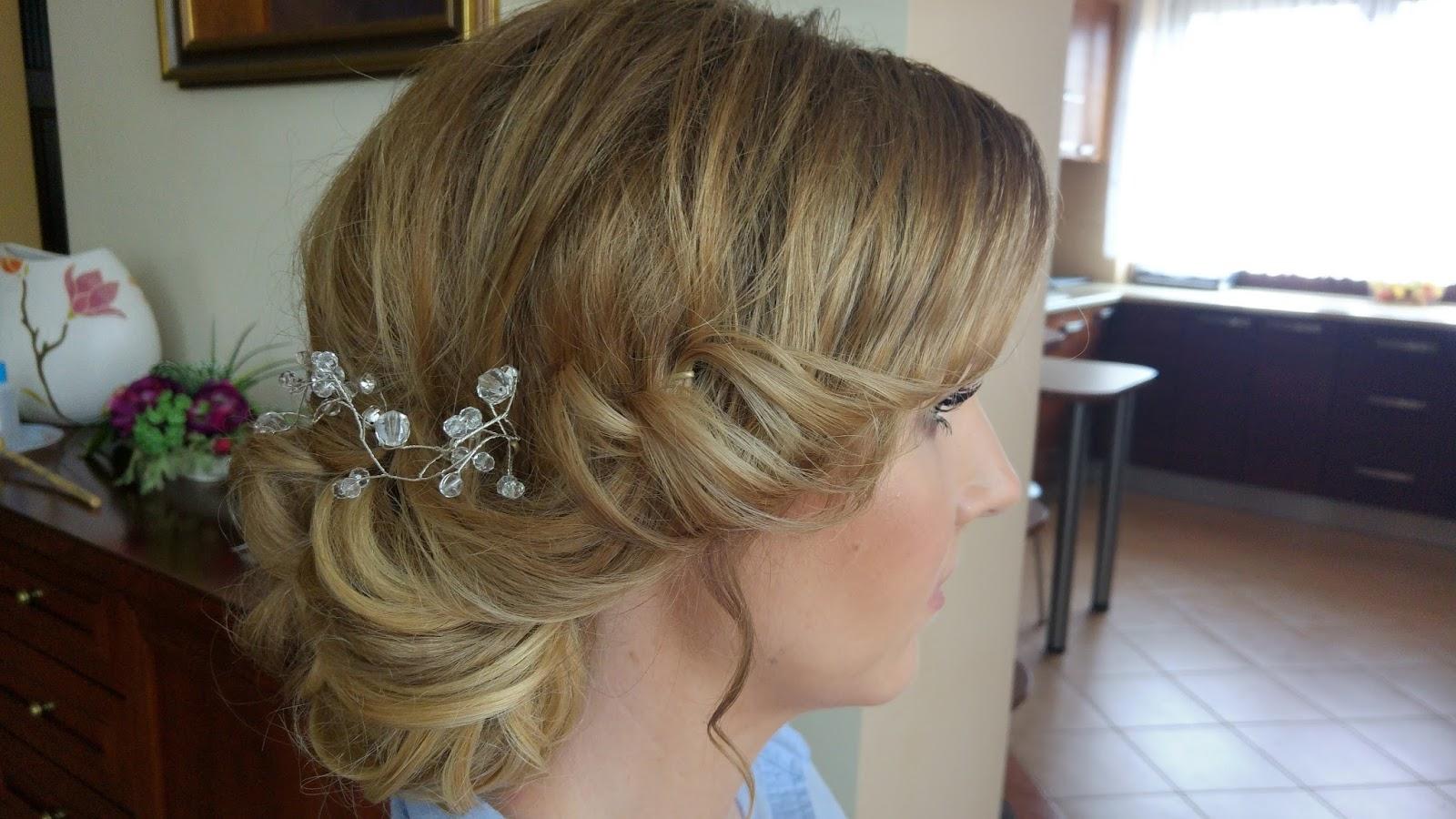 Fair Hair Care Fryzura ślubna Dla Cienkich Włosów Moja