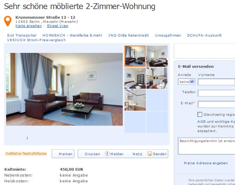 charmante wohnung in augsburg gegen wohnungsbetrug. Black Bedroom Furniture Sets. Home Design Ideas