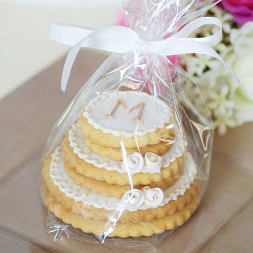 stacked wedding cake cookie favors unxia personalized stacked wedding cookie cake 20462
