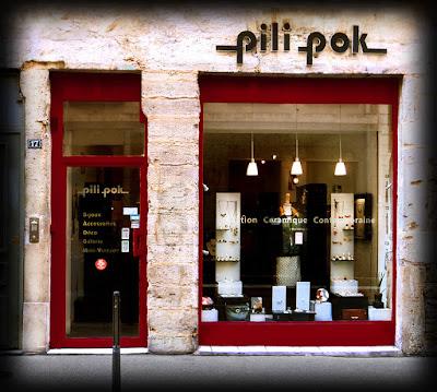 boutique de créateur pili-pok croix-rousse Lyon ceramique bijoux