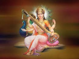 Beautifull Saraswathi Mata Wallpaper