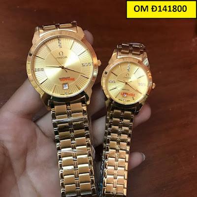 Đồng hồ đeo tay cặp đôi Omega OM Đ141800