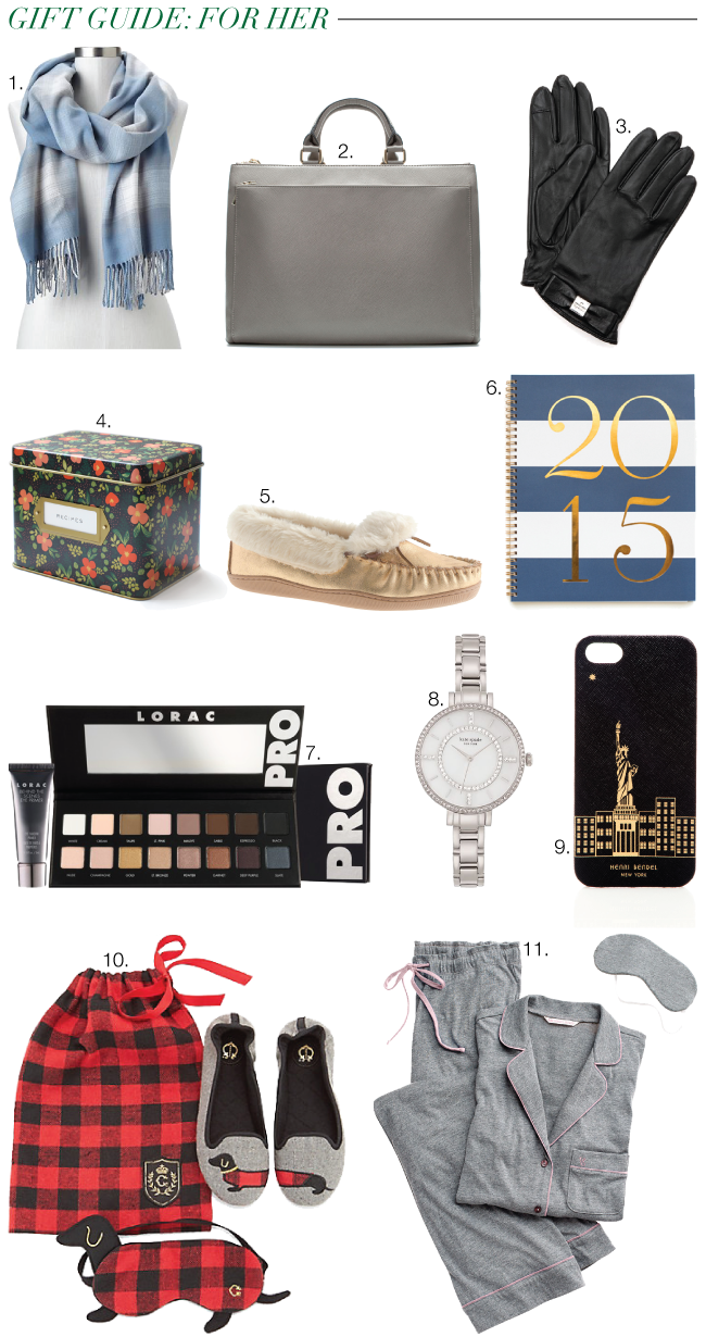 Christmas & Holiday Gift Guide: For Her // A Style Caddy