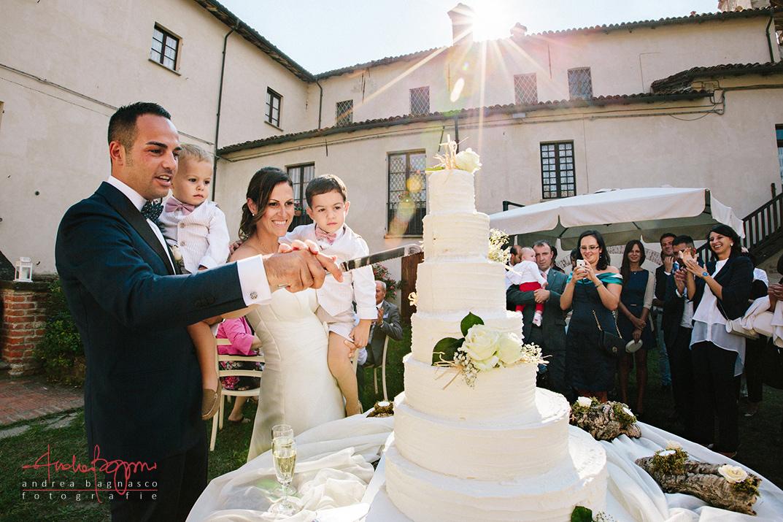 taglio torta matrimonio reportage ellie alessandri
