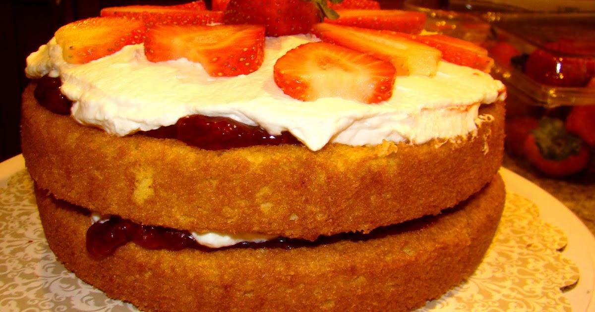 Sponge Cake Made Of Samoneli Flour