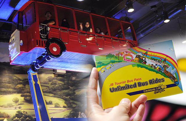 Naik Bas Causeway Link Dari KL Terus ke Legoland