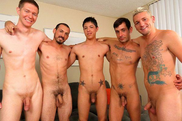 Male Teen Circle Jerk 92