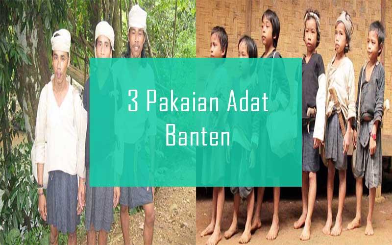 Inilah 3 Pakaian Adat Dari Provinsi Banten