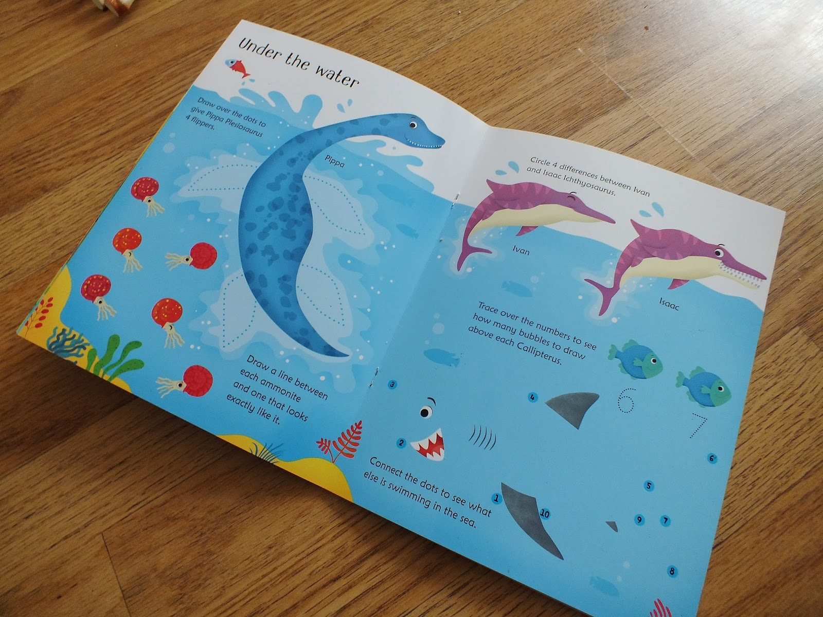 from a whisper to a roar wipe clean dinosaur activity book