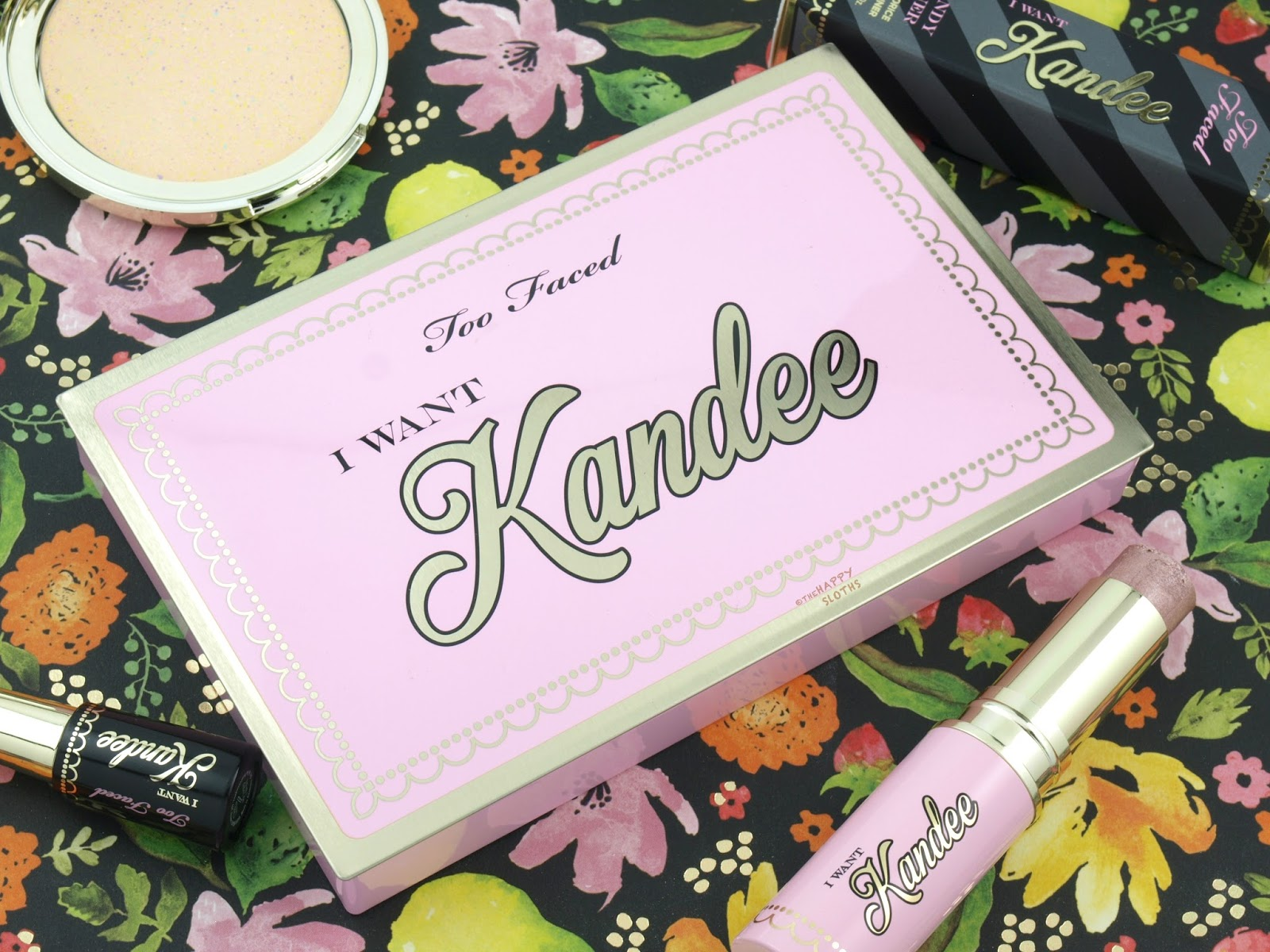 Too Faced x Kandee Johnson | I Want Kandee Eyeshadow Palette: Review and Swatches