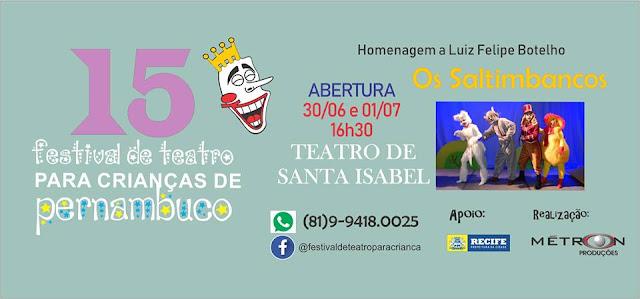 Festival de Teatro para Crianças de Pernambuco