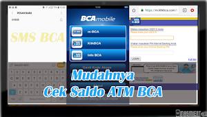 Cara Cek Saldo BCA Lewat Hp Android Paling Mudah