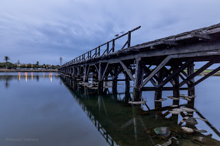The Wooden Bridge - Woodbridge Island, Cape Town