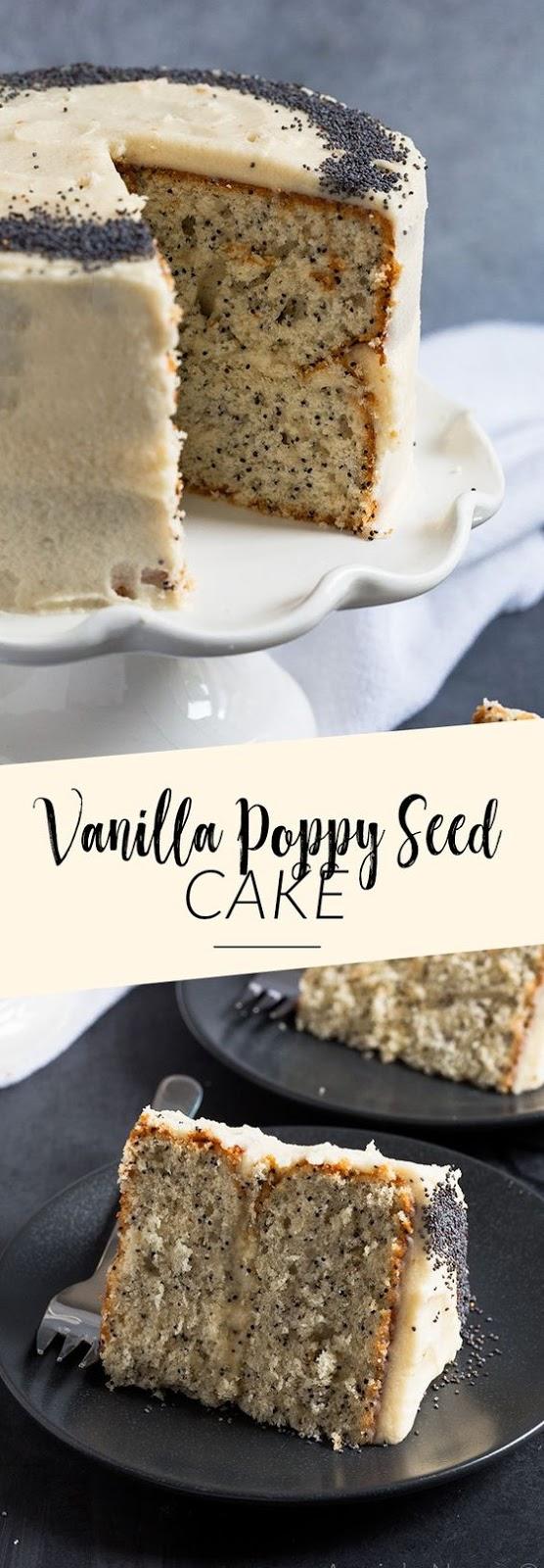 Vanilla Poppy Seed Cake