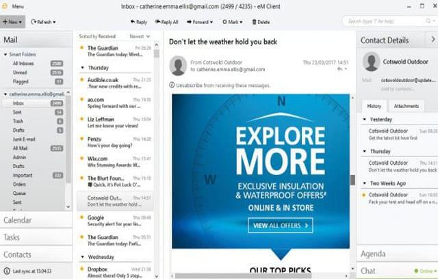 Free-email-client-eM-Client