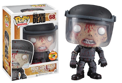San Diego Comic-Con 2013 Exclusive The Walking Dead Pop! Vinyl Figures by Funko - Blood Splattered Prison Guard Walker
