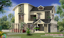 Curved Roof House Plans