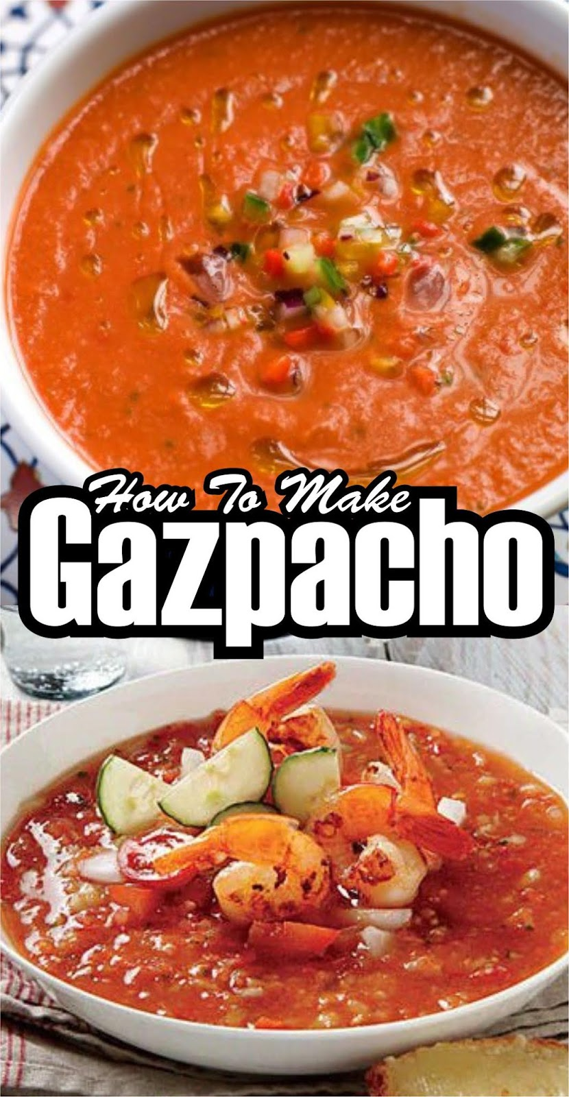 DELICIOUS AND TASTY GAZPACHO