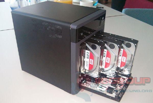 Phục hồi dữ liệu hệ thống NAS SAN HDD hỏng