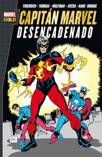 CAPITAN MARVEL DESENCADENADO  Marvel comic de Drake, Ayers, Friedrich, Springer, Sutton MARVEL GOLD