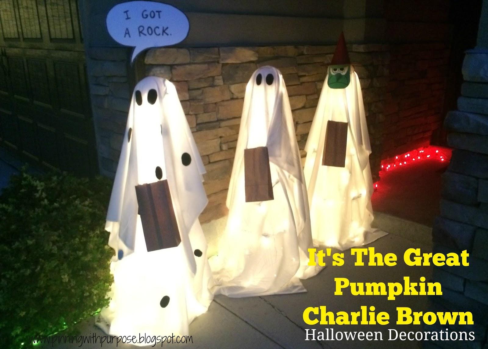 Halloween Charlie Brown Decorations Yard