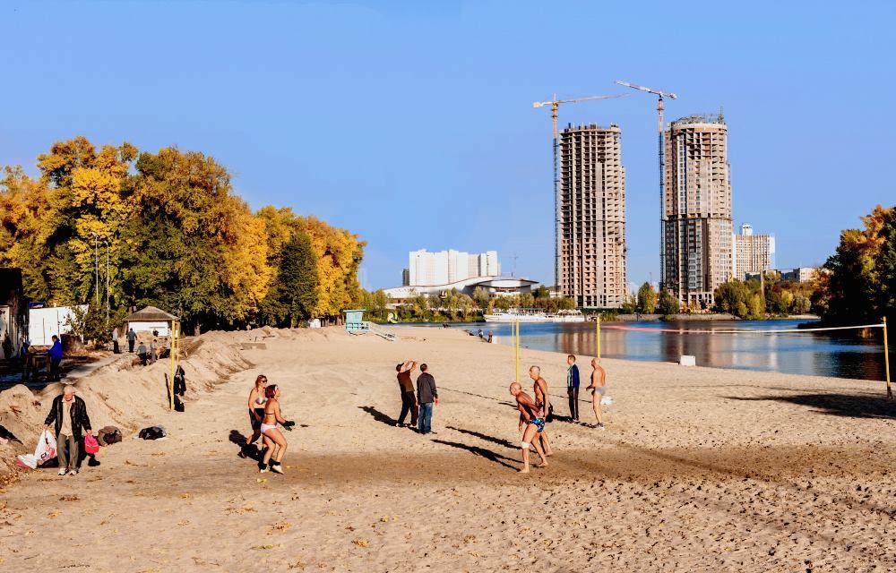 являясь пляжные фотографии из киевского гидропарка человек