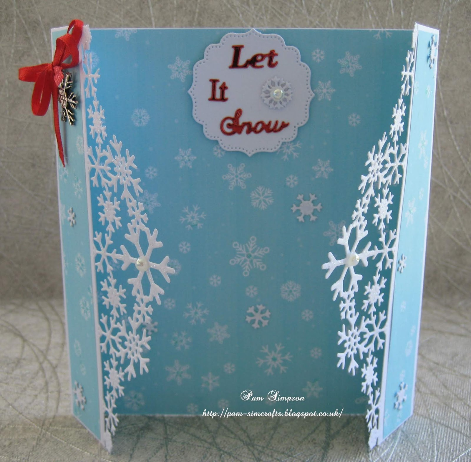 Tl Christmas Sentiments, Sahara Label