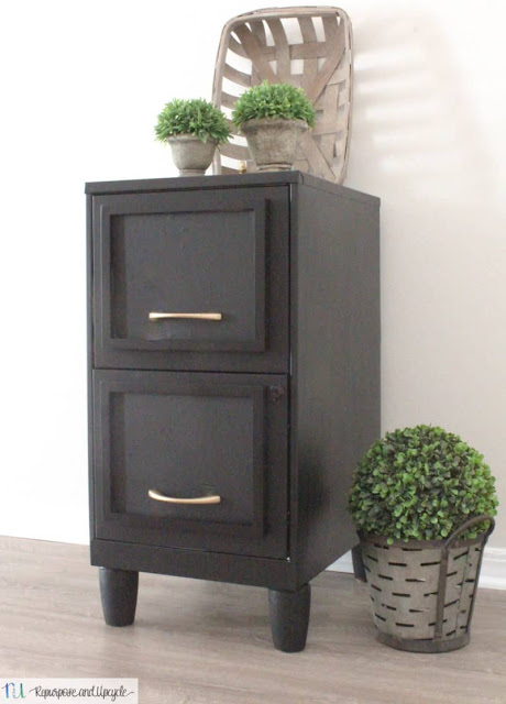 Easy DIY Filing Cabinet Makeover
