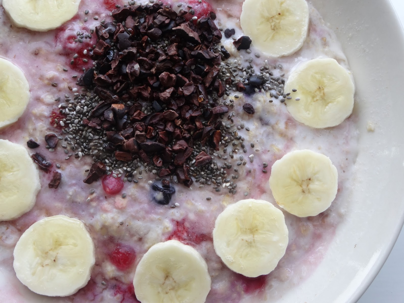 Healthy Banana Superfood Porridge
