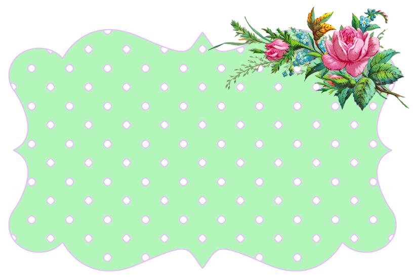 free green floral frame - photo #33