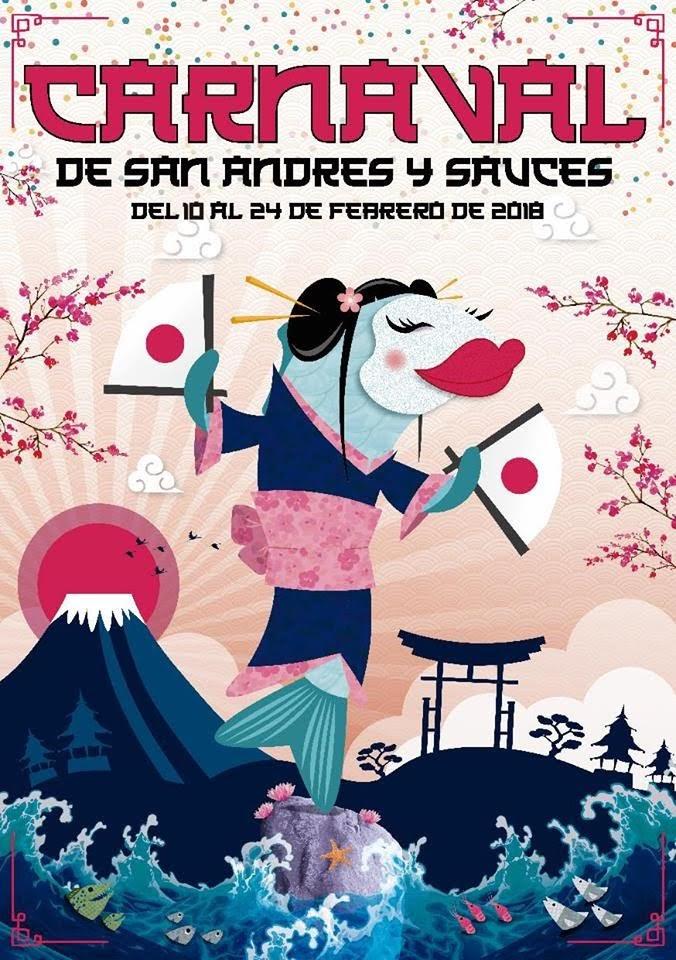 Programa de Carnaval 2018 San Andrés y Sauces