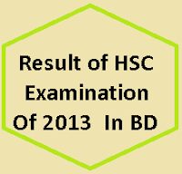 HSC/Alim/Equivalent Result Publication 2013 | HSC Alim Vocational Results 2013 Bangladesh