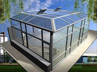 Atap Kanopi Kaca (Skylight) Tempered di Bondowoso