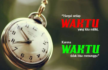 Kata Kata Tentang Waktu Bijak