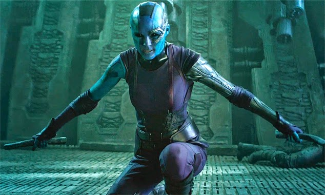 Guardians of the Galaxy images Nebula action sequence