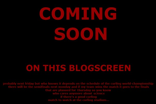 cartoon: coming soon on this blogscreen