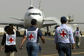 Yemen: Secuestran avión humanitario del Comité Internacional de la Cruz Roja (CICR)