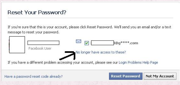 Facebook Password Recovery - KOBE MONITOR