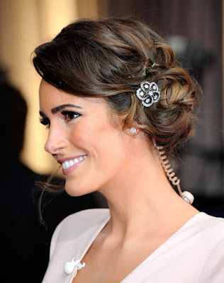 Peinados para novia cabello corto