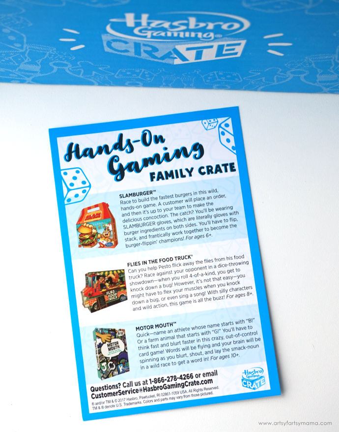 Hasbro Gaming Crate: Hands-On Games the whole family will love! #HasbroGamingCrate