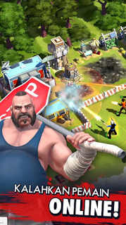 Zombie Anarchy War & Survival Mod v1.0.9d Apk+Data Unlimited Money Terbaru