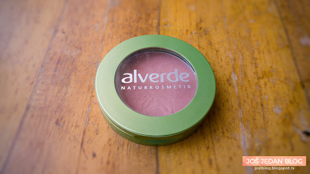 Alverde Puderrouge 01 apricot rumenilo review recenzija