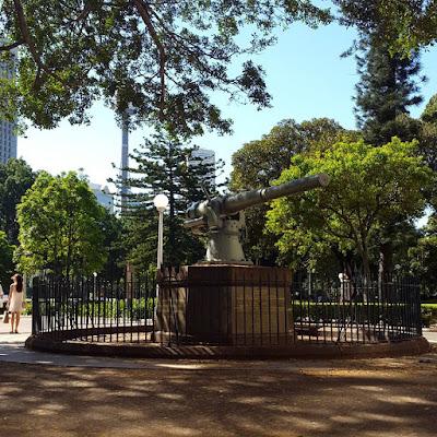 Cannon Memorial at Hyde Park Sydney Australia