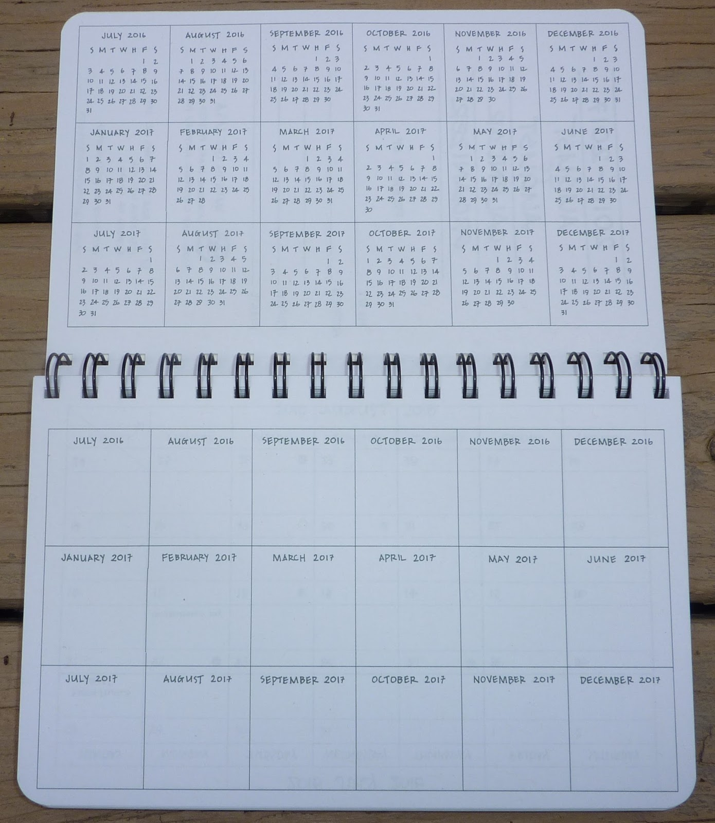 plannerisms august to august calendar organizer by mixed role