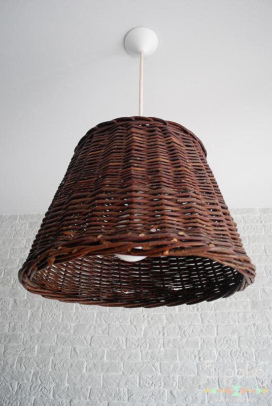 lampa | wiklina | DIY | wisząca