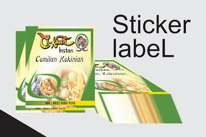 Sticker Makanan