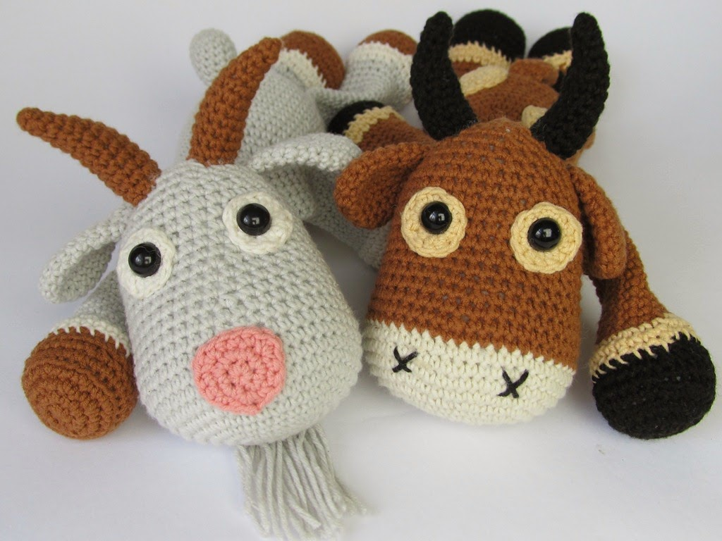 Amigurumi goat | Etsy | 768x1024