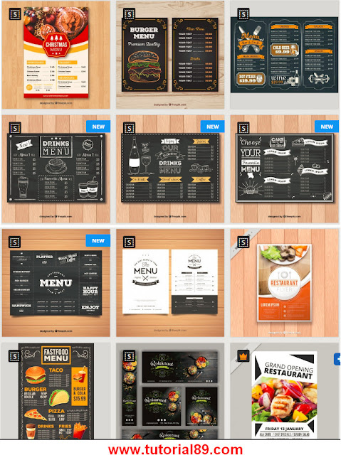 89+ template menu restoran dengan format PSD, word, publisher, corel, Ai