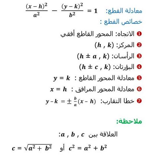 الدرس الثاني و الثالث 4 رياضيات ثالث ثانوي الفصل الدراسي الاول