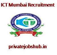 ICT Mumbai Recruitment